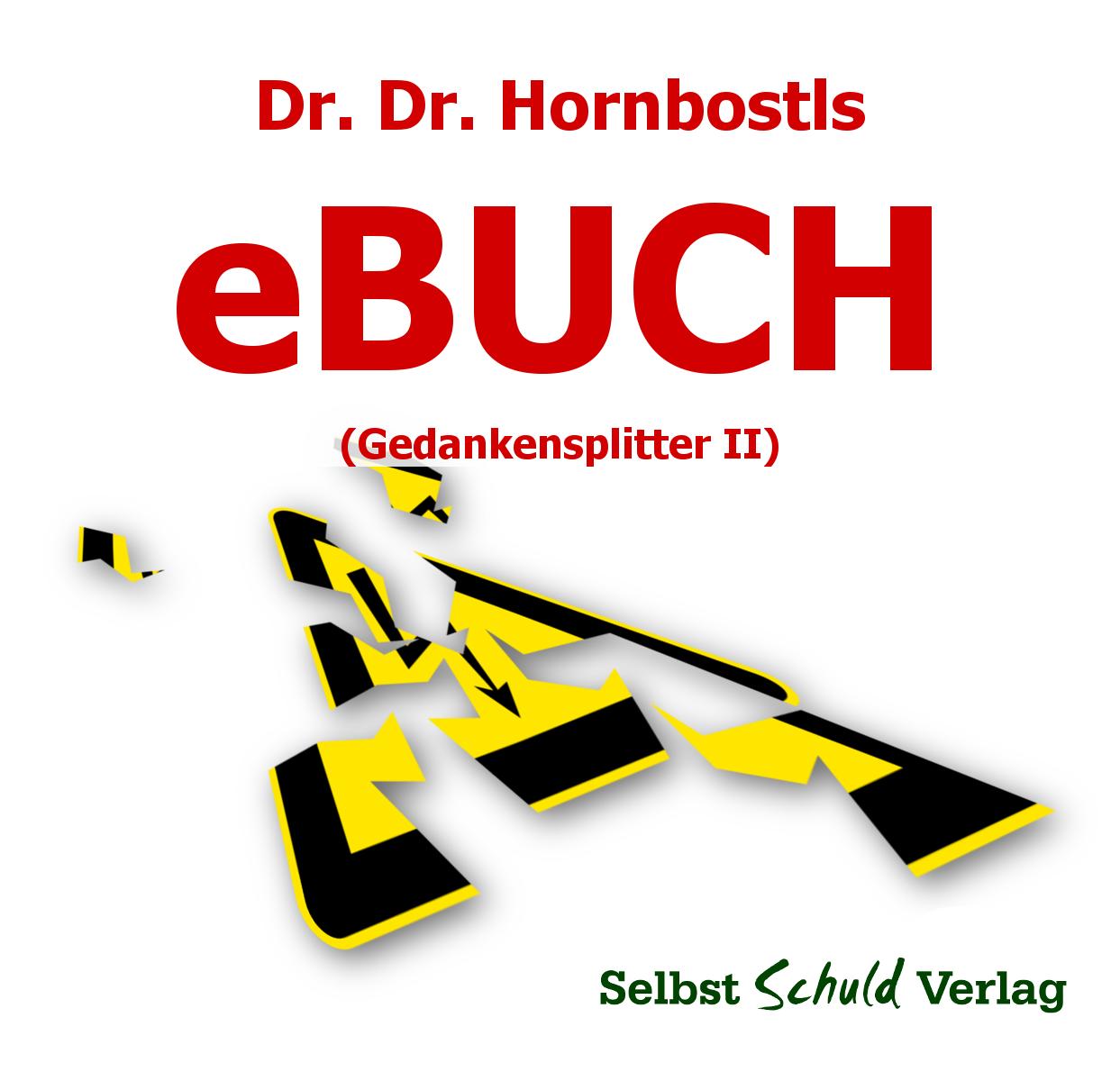 Dr.Dr. Hornbostls eBUCH (Gedankensplitter II)